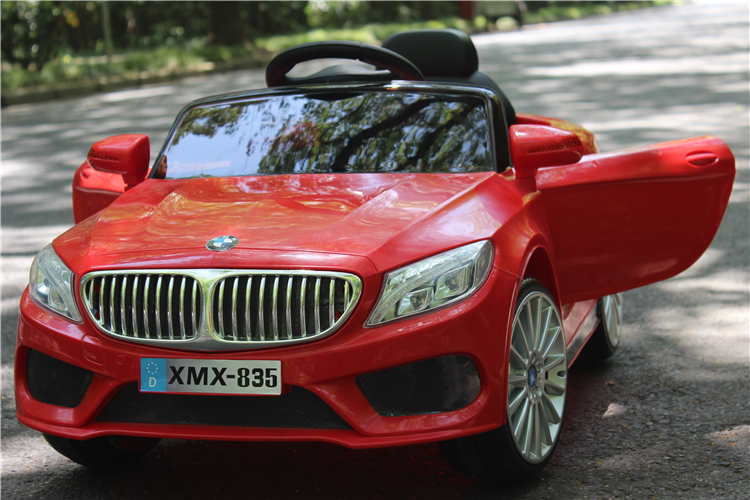 Electric Car For Kids Ride On With Remote Control And Music Bmwx