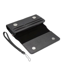 Horizontal Man Strap Belt Clip Dual Mobile Phone Leather Case Card Pouch For Nokia Microsoft Lumia 640 XL,LeEco Cool1 dual,Le 2s