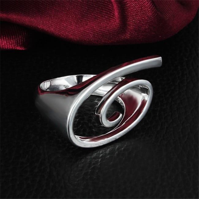 особистість дизайн срібло пальця - Модні прикраси - фото 3