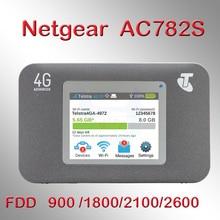 Разблокированный используемый Netgear Aircard 782S(AC782S) 4G LTE Мобильная точка доступа CAT4 Wifi роутер 4G LTE Портативный wifi точка доступа sim