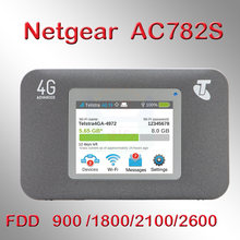 Desbloqueado Netgear Aircard 782 S (AC782S) 4G LTE Mobile Hotspot CAT4 Router Wifi 4G LTE band 1/3/7/8 900/1800/2100/2600 MHz)(China)