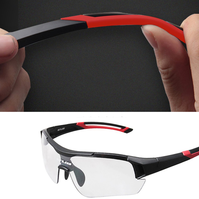 0f00567a13a0 All-weather Riding Glasses Ultraviolet-proof Goggles Sports Sunglasses  Intelligent Glasses Color Shifting Windshield Hot Sale