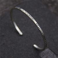 C&R Real 925 Sterling Silver bracelet double fish Sculpture bangles Thai Silver bracelets Retro handmade Fine Jewelry