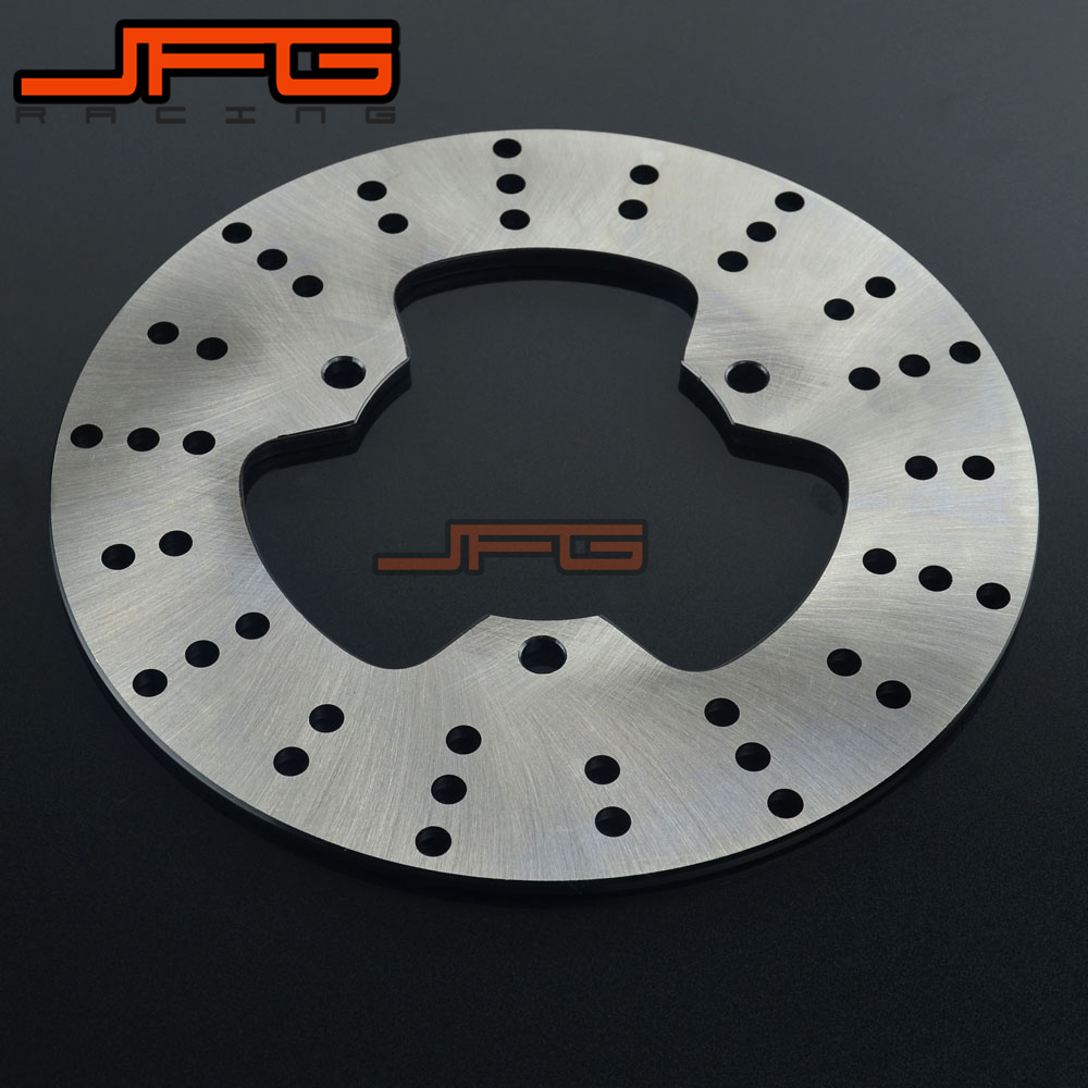 Motorcycle Outer Diameter 210mm Stainless Steel Rear Brake Disc Rotor For TZR125 TZR 150 250 SDR200 FX250 FZR250R TZ250 TDR250 outer diameter 245mm stainless steel rear brake disc rotor for yamaha yzf600 xt660 xtz660 tdm850 trx850 tdm900 yzf1000 yzf r1