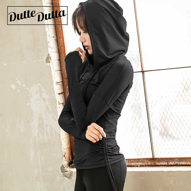 Women's Sports Sweatshirts For Women Workout Tops Fitness Wear Female Sport Blouses Woman Gym Yoga Top Hoodies Jersey Sportswear