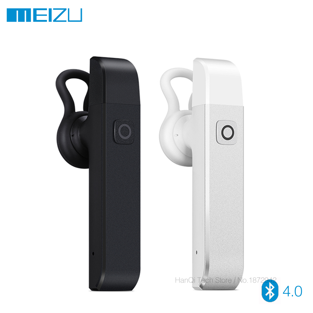 Original Meizu BH01 Car Kit Handfree Headphone Wireless Bluetooth Earphone Stereo Headset With MIC Aluminium Earhud for Mobile remax 2 in1 mini bluetooth 4 0 headphones usb car charger dock wireless car headset bluetooth earphone for iphone 7 6s android