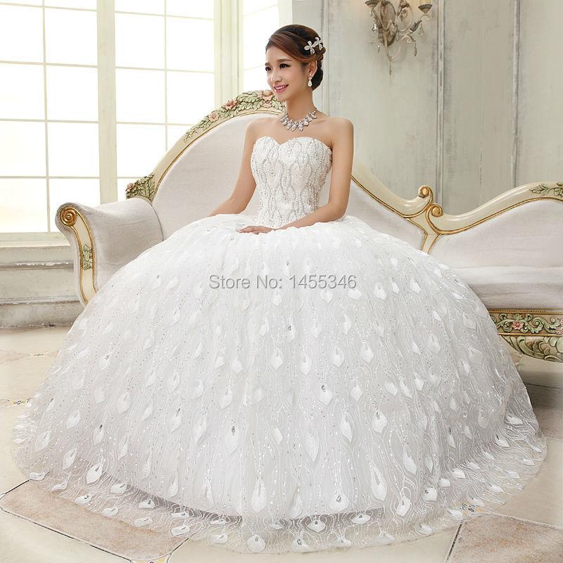 Imagenes de vestidos de novia color perla