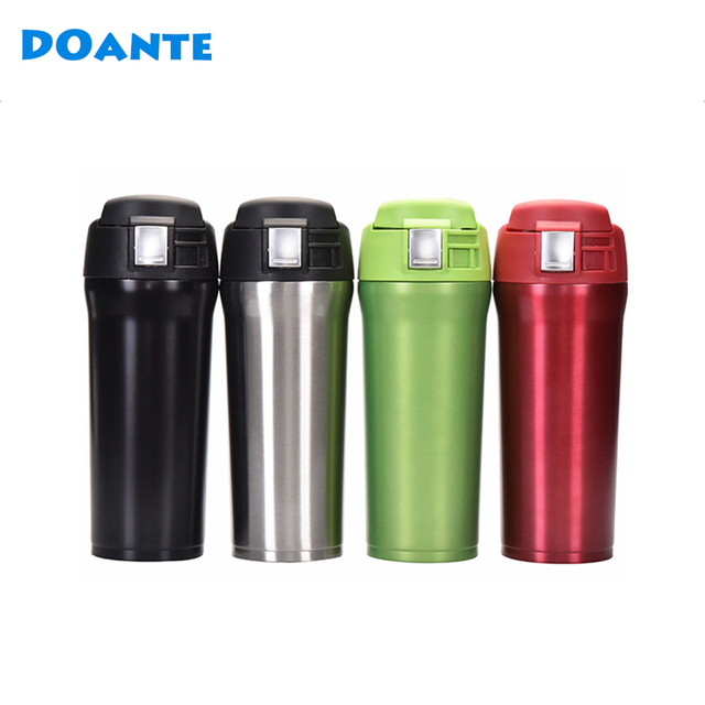 DOANTE Brand 480ml 304 Stainless Steel Vacuum Flask Women Thermoses Heat  Resistant Thermos Coffee Mug Portable Water Bottle 01e12a309