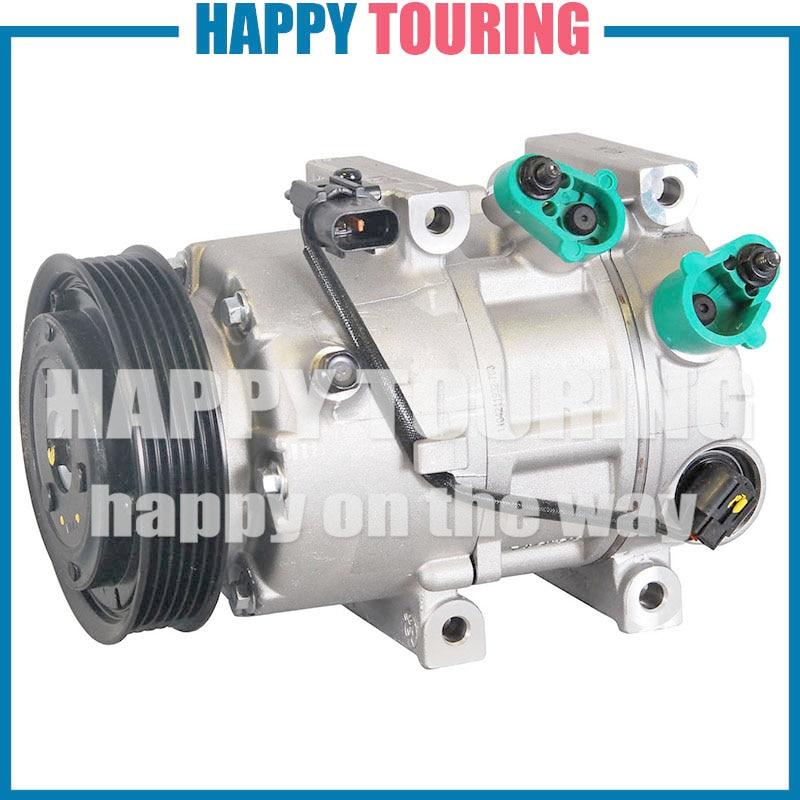 VS16E A/C AC compresseur de climatisation pour Hyundai SONATA VI YF 2.0 2.4 Kia OPTIMA 2.0 2010 CVVL G4KD 977013V110 977013R000