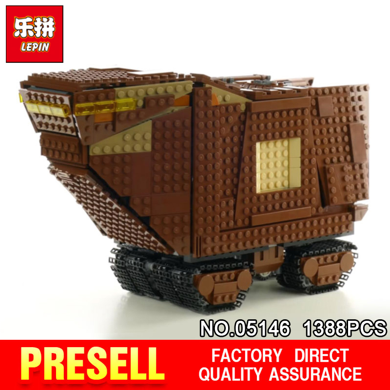 Lepin 05146 STAR Compatible With The 75220 Toy The Sandcrawler Building Blocks Brick Educational Toys Funny Model WARS lepin 05146 starwars the sandcrawler model set star plan wars 75220 building blocks bricks educational children collection toys