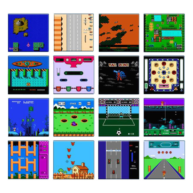 BL-883 Portable Classic Retro Handheld Game Console 8-Bit Game Machine N Arcade Games Players With 240 Classic Games for Kids