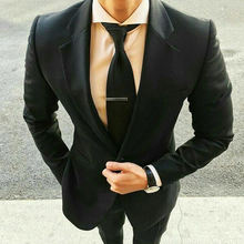 Индивидуальный заказ черные мужские костюмы с брюки для девочек
