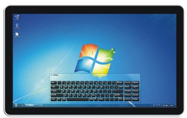 47 55 65 pouces tft lcd 55 pouces LCD HD multi doigt écran tactile panneau intelligent moniteur/tout en un mur bricolage pc