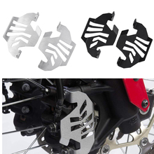 Motorcycle AluminumCRF 1000L Left& Right Front Brake Caliper CoverGuard for 2016 2017 2018 Honda CRF1000L CRF Africa Twin