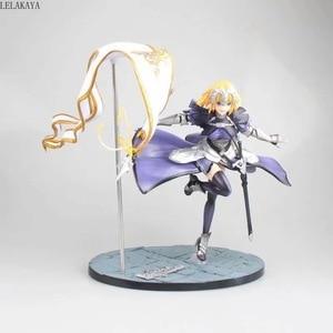 Image 4 - 1pcs Anime Fate Grand Order Jeanne DArc Figure Ruler 7 generation Fate Apocrypha Ruler Joan of Arc 1/7 pvc action figure model