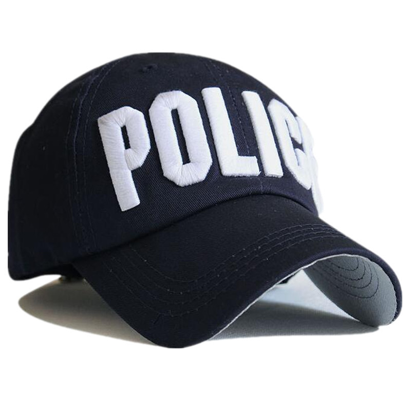 315aac16284 Police Cap Unisex Hat New Brand Caps Casual Sports hat Snapback Hat Gorras  Hombre solid cappello hip hop baseball cap-in Baseball Caps from Apparel ...