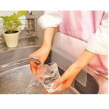 1PC Kitchen Tool Japanese Style Water Splash Sucker Sink Flaps Kitchen Accessiors Sink Wash Basin PVC