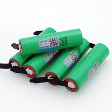 VariCore New Brand 18650 2500mAh Rechargeable battery 3.6V INR18650 25R 20A discharge + DIY Nickel liitokala new 18650 2500mah rechargeable battery 3 6v inr18650 25r 20a discharge diy silica gel cable