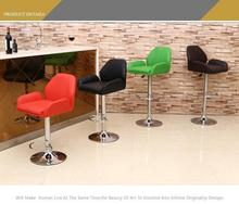 bar table cahir red black green color seat free shipping coffee house dining hall orange color