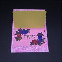 Rectangular flower border Metal Cutting Dies Scrapbooking Embossing DIY Decorative Cards Cut Stencils