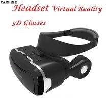 Carprie VR shinecon гарнитура виртуальной реальности 3D Очки для Iphone для Samsung для Другое бренд телефоны, смартфоны с 4 -6 inche
