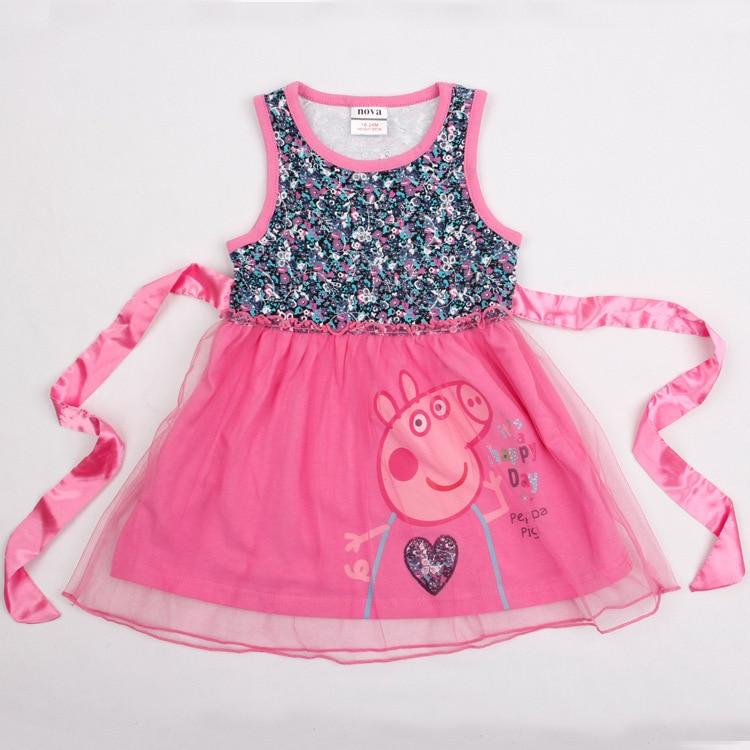 new product 2ad48 cc0c7 Fantasias Children Summer Cartoon Peppa Pig Costume Fashion ...