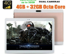 Original 3G 4G FDD LTE 10 inch tablet PC Octa Core Android 6 0 4GB 64GB