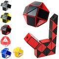 Lo nuevo Divertido Shengshou Velocidad Profesional Magia Serpiente Forma Juguetes Juego torcedura Del Cubo Puzzle Juguetes Regalos Para Los Niños 6 Colores Calientes-50