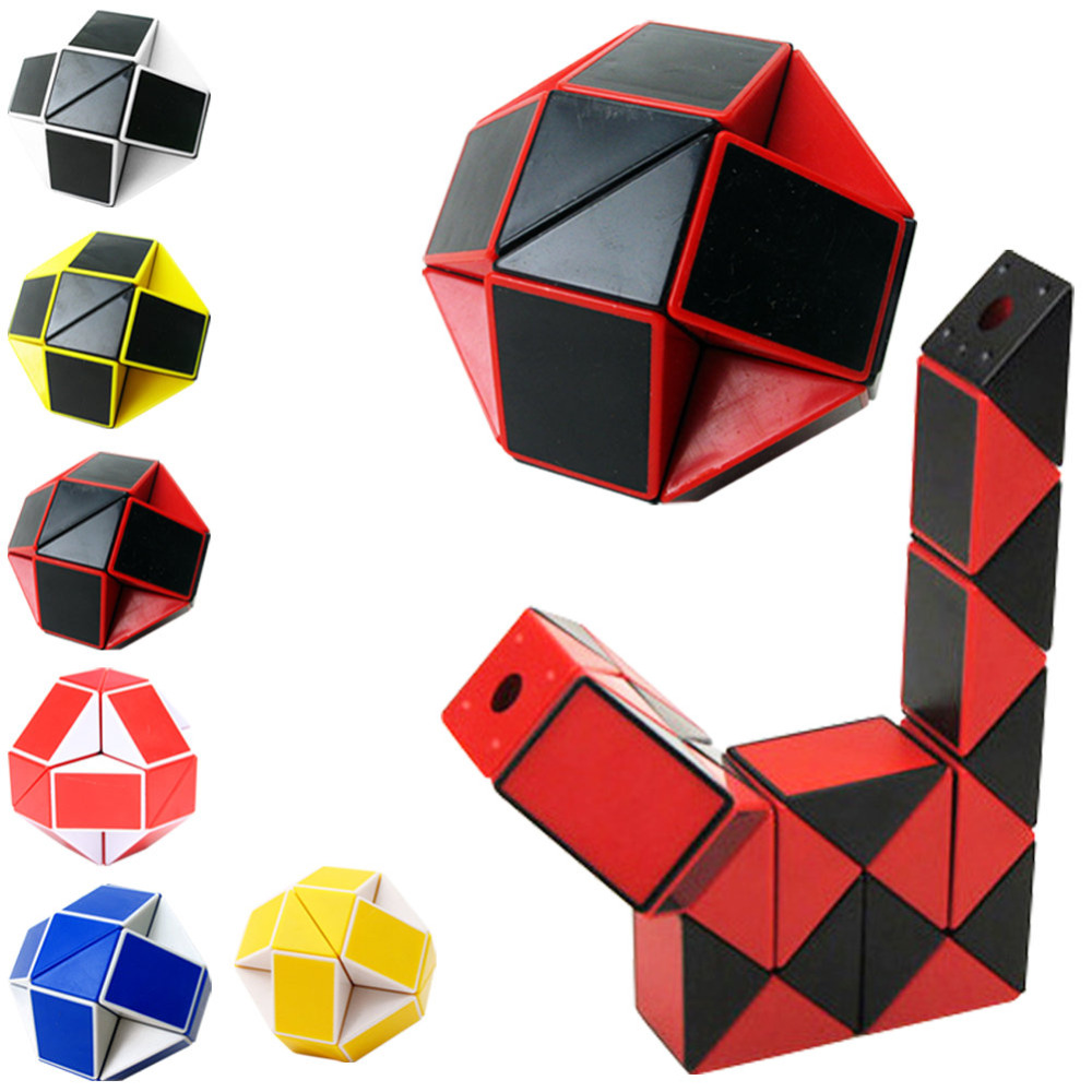 Newest Funny Shengshou Professional Speed Magic Snake Shape Toys Game Twist Cube Puzzle Toys Gift For