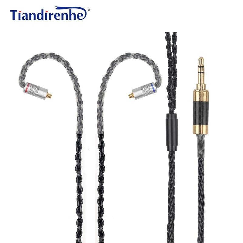Upgrade DIY MMCX Cable for Shure SE215 SE535 SE846 Earphone 56 Cors Carbon AUX 3.5mm Headphone Wire for iPhone xiaomi Computer чайник электрический sinbo sk 7379 черный