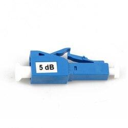 Zhwcomm 10 шт. LC UPC 5bd симплексном режиме Оптическое волокно аттенюатор LC 5db металл мужской Волокно аттенюатор FTTH аттенюатор Бесплатная доставка