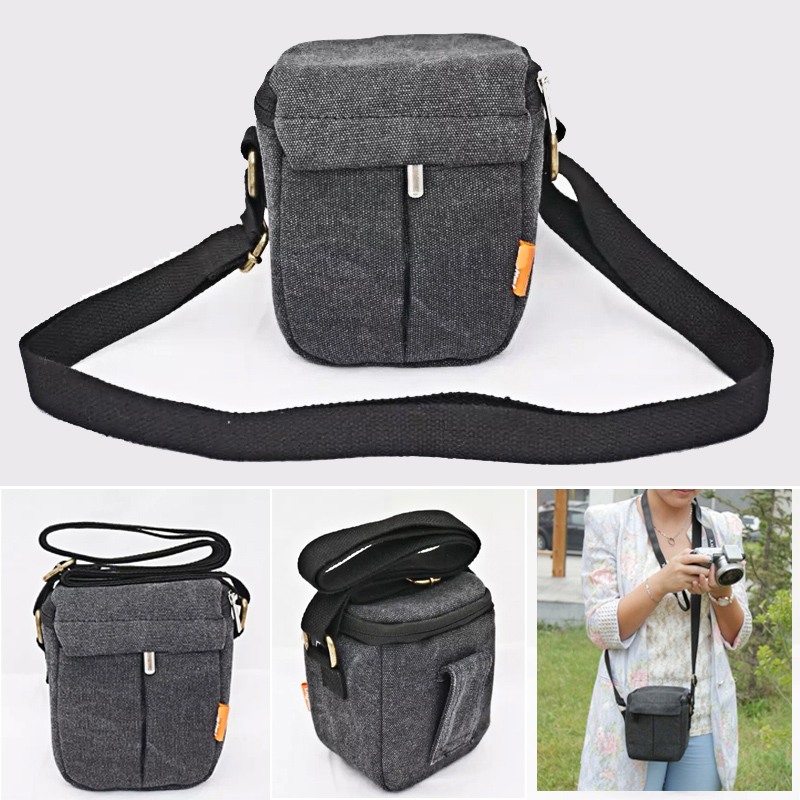 Camera bag <font><b>case</b></font> Cover For Panasonic <font><b>Lumix</b></font> GF10 GF9 GF8 GF7 GF5 GF6 LX100 LX100II <font><b>LX7</b></font> GX7 GX8 GM1GM5 ZS110 ZS100 shoulder bag image