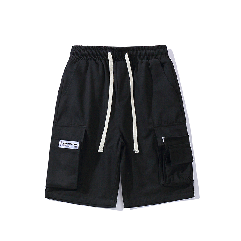 Newest Heron Preston Shorts Men Camouflage Fashion Drawstring Camo Streetwear Beach Shorts Summer Style Heron Preston Men Short