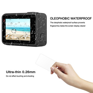 Image 3 - Gaqou Kính Cường Lực Dành Cho Gopro Hero 7 6 5 Màu Đen Ống Kính Bảo Vệ Màn Hình LCD Đi Pro Camera Hành Động Bảo Vệ bộ Phim Phụ Kiện