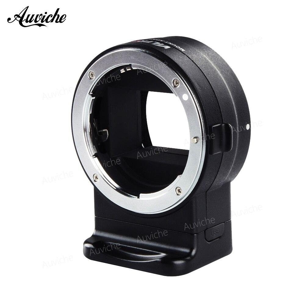 Viltrox NF-E1 AF Auto Focus EXIF Signal Lens Adapter Ring Tube For Nikon F lens to Sony E mount A9 A7III A6500 A6000 DSLR Camera jintu 900mm f 8 mirror super tele manual fix focus lens for sony alpha a900 a700 a300 a200 a100 dslr camera