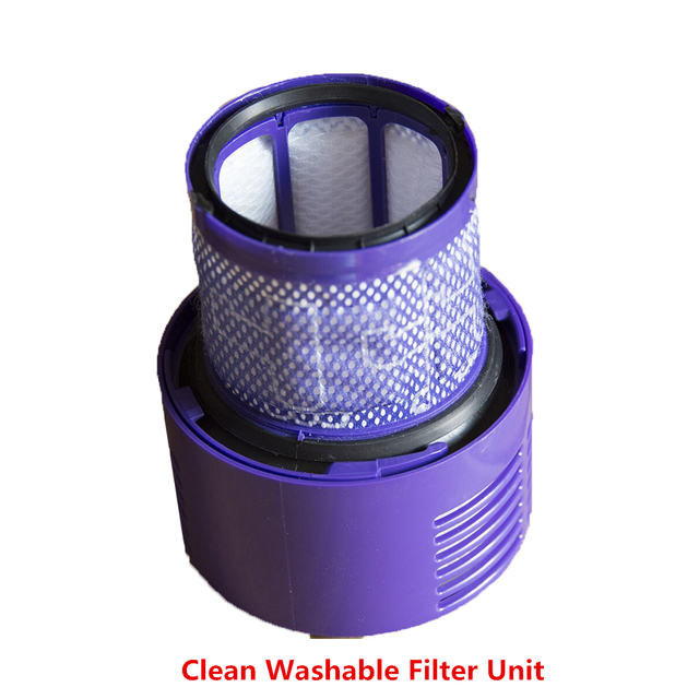 US $17 24 20% OFF Vacuum Cleaner Washable Filter For Dyson V10 Absolute/+  Total Clean Cyclone Animal Vacuum Cleaner Filters Unit Replacement Parts-in