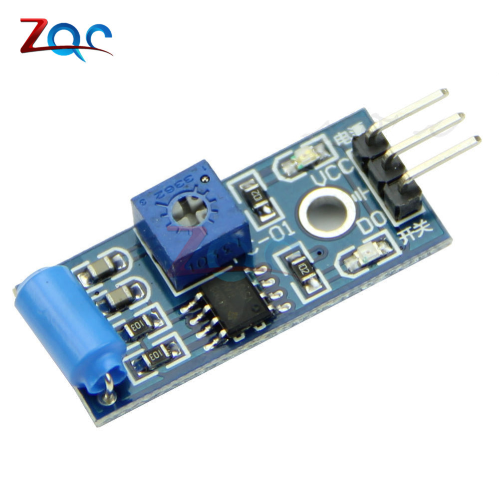 2pcs SW-420 Motion Tilt Sensor Module Alarm Sensor Induction Module Vibration Switch for Arduino SW 420 DC 3.3-5V