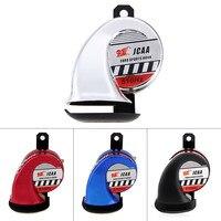 Waterproof Motorcycle Car Loud Tone Electric Air Horn Universal 125dB 12V Car Sound Air Horn Louder