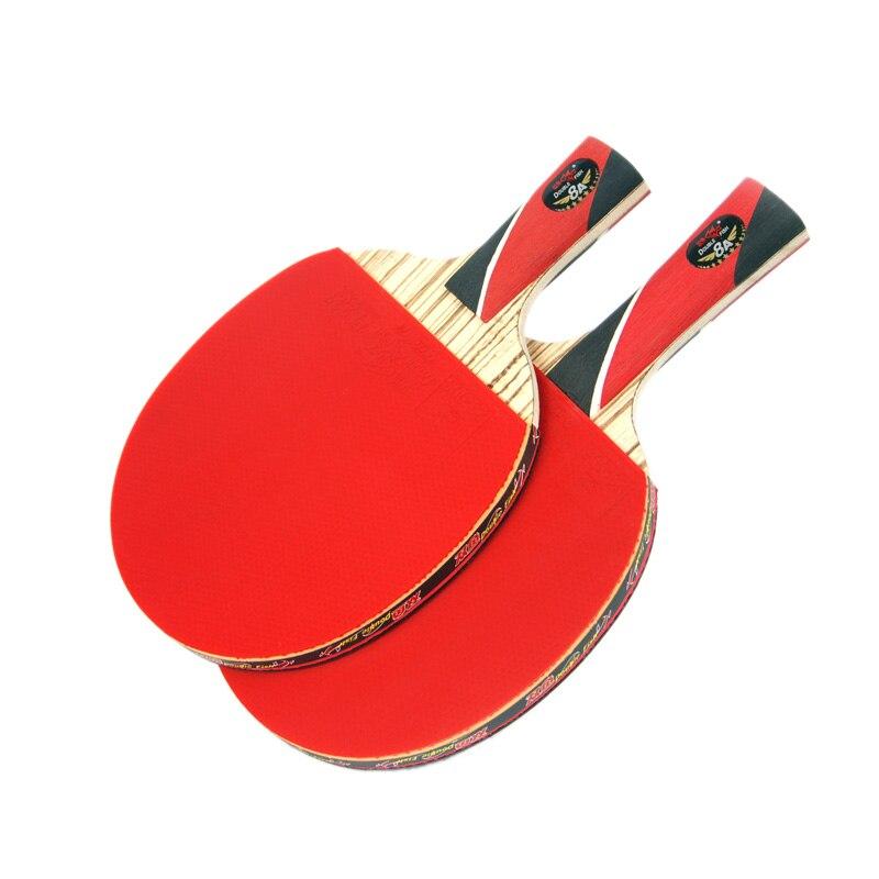 Original doble pez 8 estrellas 8A raquetas de tenis de mesa raqueta - Raquetas de deportes - foto 3
