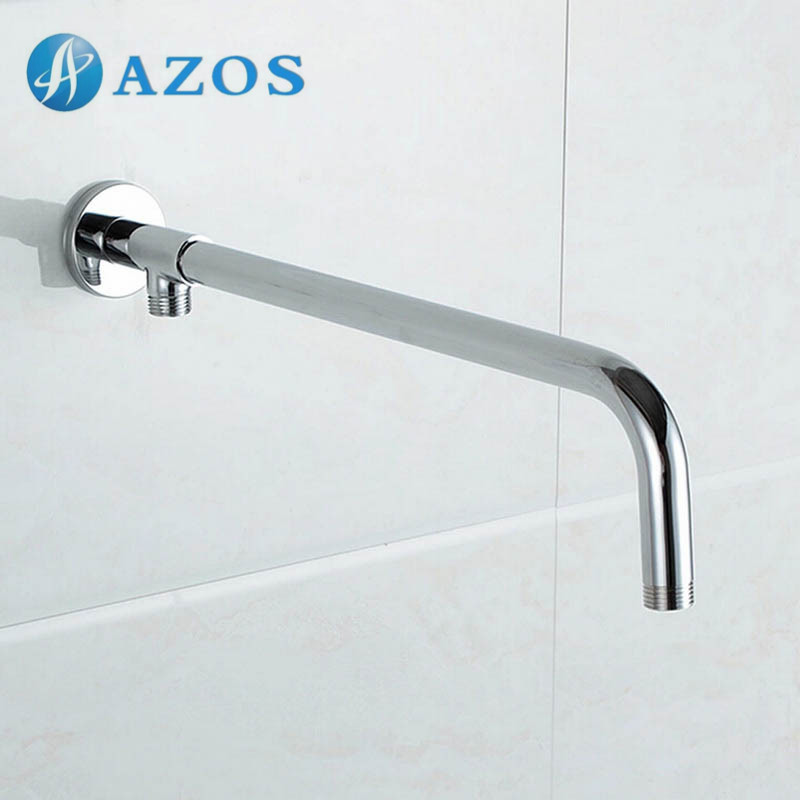 Online Shop Bathroom Furnitures Accessories Replacement 18.7 Inch Shower Arm  Flange Spout Connector Stainless Steel Polished Chrome SA009 | Aliexpress  ...