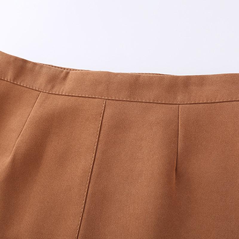 HTB11bvygrsTMeJjy1zbq6AhlVXaM - Suede Skirt Fashion High Waist Zippers JKP343