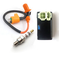 6PIN CDI adjustable AC performance Spark Plug Ignition Coil For GY6 50cc 150cc Scooter Moped