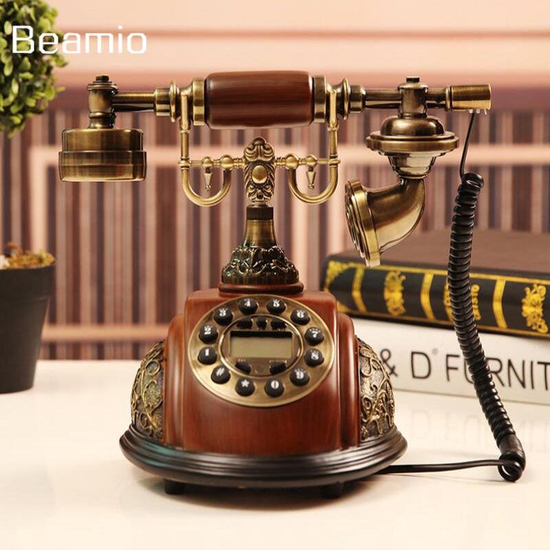 Fa utánzatok Retro Vintage antik telefonok Continental vezetékes - Irodai elektronika