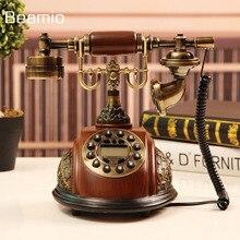 ФОТО imitation wood retro vintage antique telephones continental landline phone technology telephone