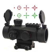 Riflescope Hunting Optics Holographic Red Dot Sight Reflex 4 Reticle Tactical Scope Cover Flip Up Quick Fit picatinny Rail