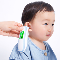 2019 Termometro New Baby Thermometer Digital Infrared IR LCD Baby Forehead and Ear Non Contact Adult Body Fever Measurement