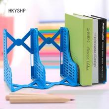 Hkyshp выдвижной Книга Стенд блока складной Bookends студентов мультфильм творческий пластиковый полки школьные канцелярские принадлежности