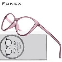 TR90 Glasses Frame Women Female Clear Prescription Cat Eye E