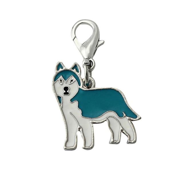 Dog Tag Metal Enamel Pet ID Enamel Accessories Collar Necklace Pendant