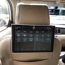 Car Headrest Monitor Rear Seat Entertainment TV DVD Player For BMW All Models Android 6.0 System Headrest Screen 11.8 Inch 2PCS car headrest video player android tv in the car dvd monitor for cadillac android rear seat entertainment system 11 8 inch screen